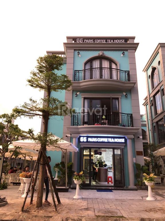 Bán shophouse Sonasea Paris Villas Phú Quốc đã hoàn thiện, bàn giao