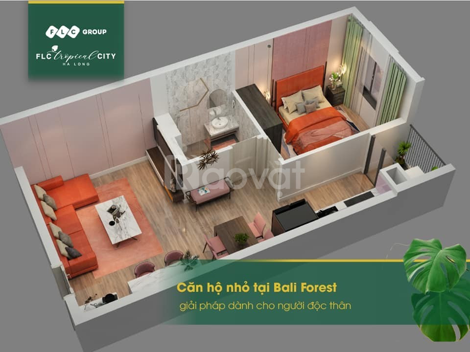 Bán căn hộ homestay 600tr view vịnh cửa lục Hạ Long