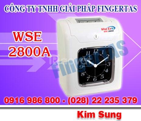 Máy chấm công thẻ giấy rẻ tốt WSE7500A