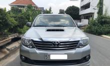 Cần bán xe Toyota Fortuner 2.4G (4x2), Model 2015, màu bạc