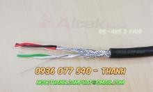 Cáp mạng công nghiệp RS485 2P22AWG, cáp xoắn chống nhiễu