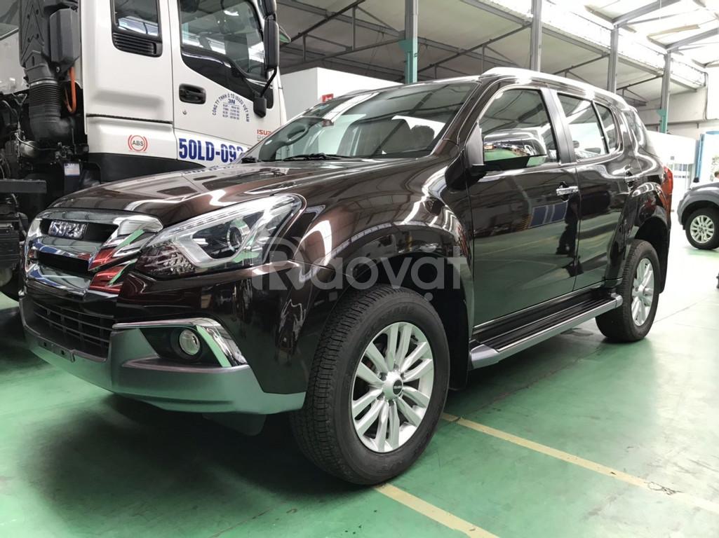 Isuzu Mu-X tự động 1.9 nhập khẩu Thái Lan
