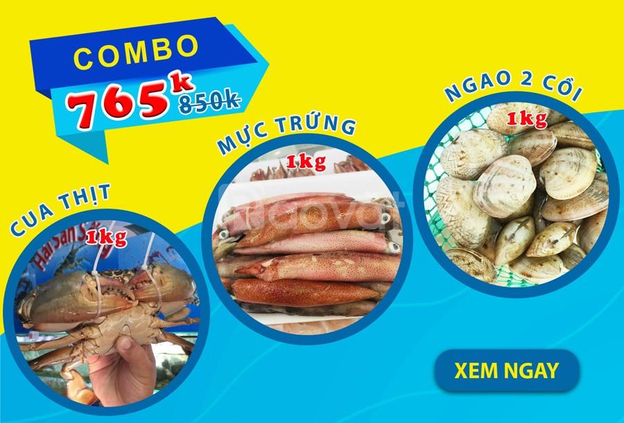 Bán cua thịt cà mau tại Gò Vấp giao sống tận nơi