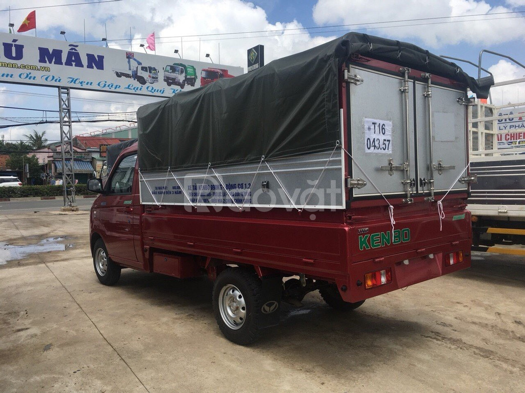 Xe tải 990kg, Nhãn hiệu KenBo thùng dài 2m6