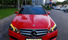 Cần  bán Mec E250 AMG sản xuất 2015 màu đỏ nội thất đen