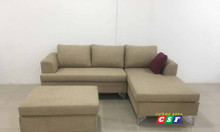 Sofa góc L vải