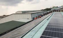 Điện năng lượng mặt trời áp mái nhà xưởng