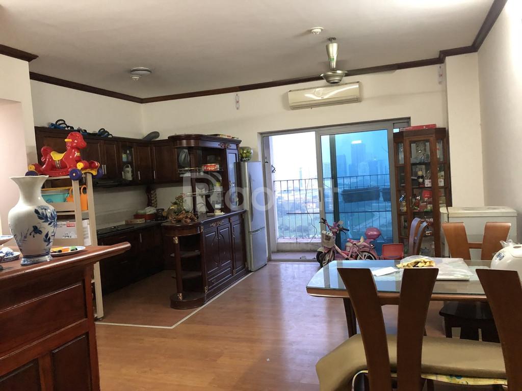 Cho thuê gấp căn hộ 108m2 tòa 789, 3 ngủ, đầy đủ nội thất, giá 9tr