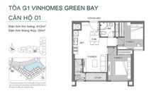 Chính chủ bán căn 2N, 1WC tòa G1 Vinhomes Green Bay