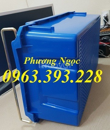 Hộp nhựa đặc A2 có quai xách,thùng nhựa chứa đồ, hộp nhựa công nghiệp
