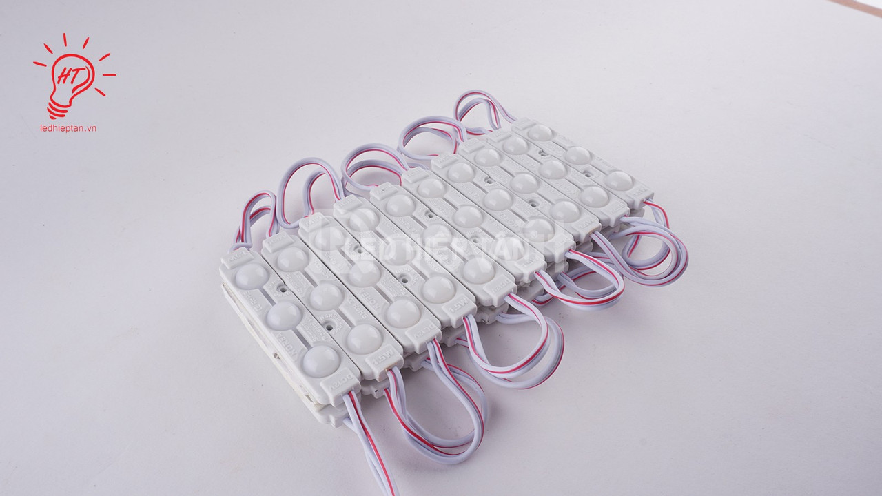 Module 3 bóng trắng 6914 len mờ 5730 - Led Hiệp Tân - Vật tư led