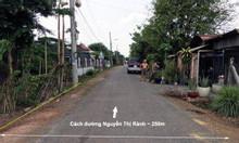 Bán gấp lô đất ngay MT Nguyễn Thị Rành, cách  ngã tư Nguyễn Thị Rành