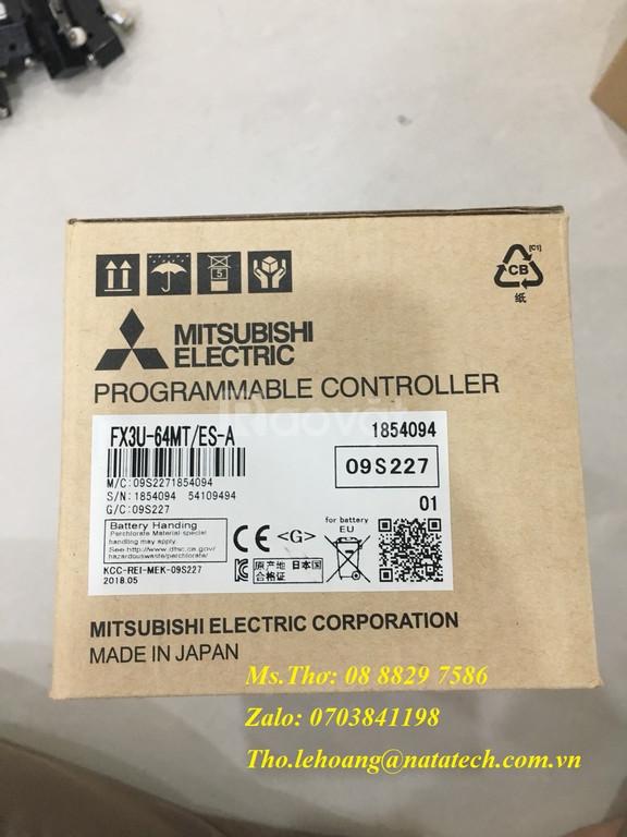 PLC Mitsubishi FX3U-64MT/ES-A - Công Ty TNHH Natatech