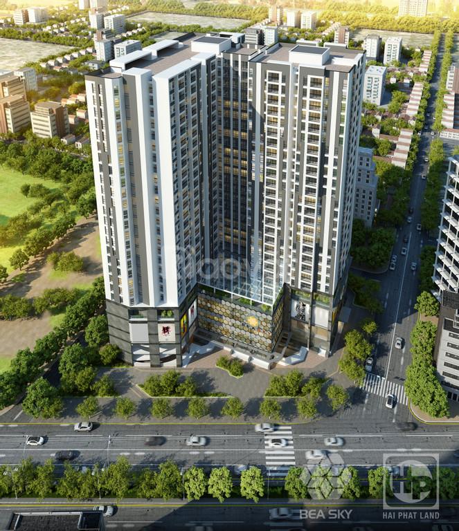 Căn hộ 2PN dự án Bea Sky vị trí vàng đại lộ Chu Văn An