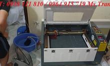 Máy laser cắt khắc gỗ , máy khắc laser 4060 giá rẻ tại Hưng Yên