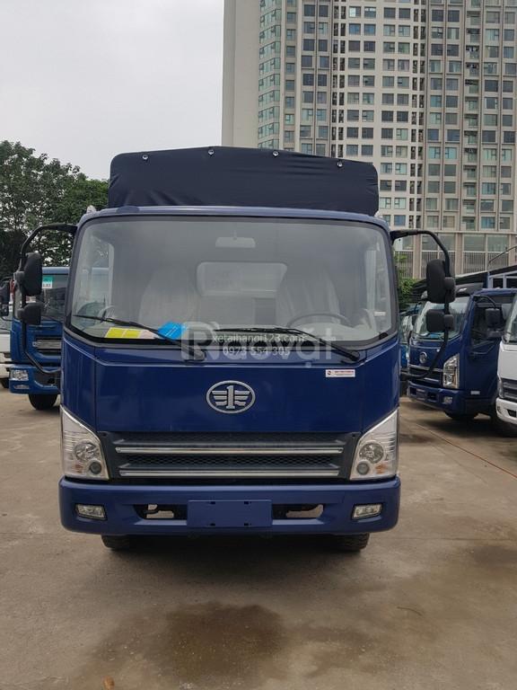 Xe tải Faw máy cơ Huyndai, thùng dài 6m2, 190 triệu nhận xe.