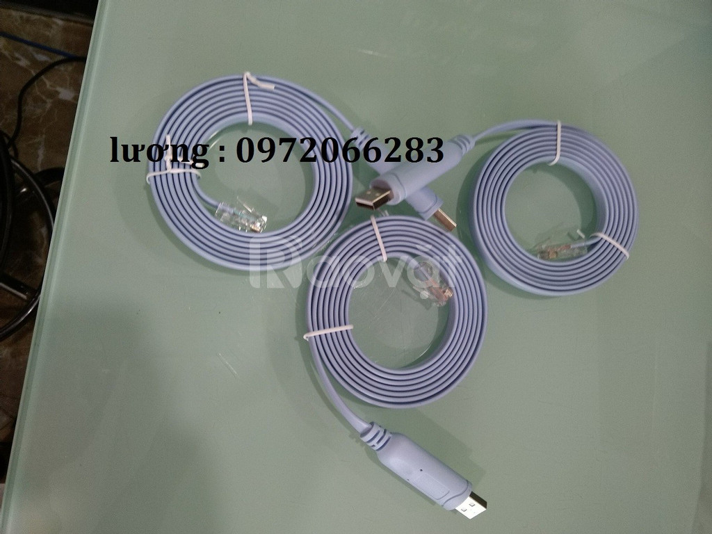 Cáp lập trình cisco - console USB to RJ45 Cable