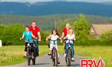 Cho thuê xe đạp chạy quảng cáo tại Việt Nam
