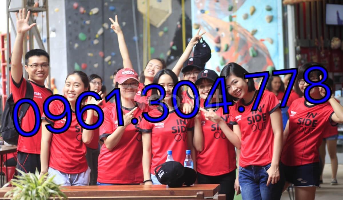May in áo thun team building giá rẻ