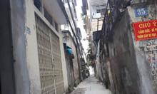 Nhà mặt ngõ Minh Khai, diện tích 26m2x4 tầng, cách mặt phố 25m