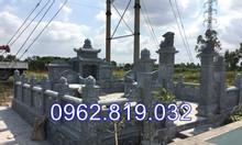 Lăng mộ đá lắp đặt tại Thái Bình được chế tác tại Ninh Bình
