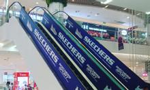 Quảng cáo thang cuốn trung tâm thương mại, siêu thị