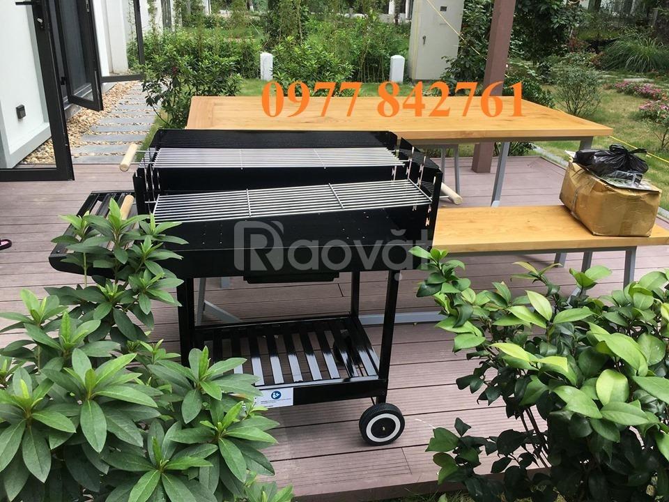 Bếp nướng sân vườn khung thép Acter tree Ck350 hàng đẹp xuất khẩu