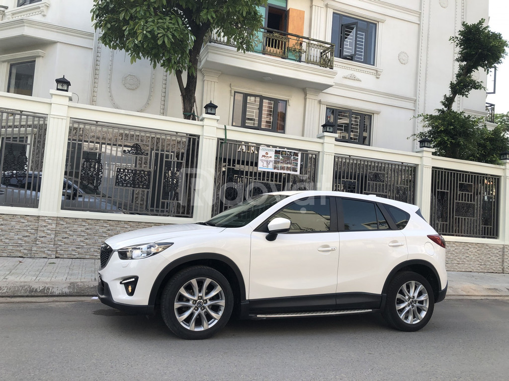 Cần bán xe Mazda CX-5 2.0 AT, Model 2016, màu trắng