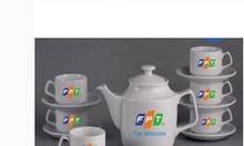 Xưởng in bộ ấm trà, in logo bộ ấm trà làm quà tặng tại Đà Nẵng
