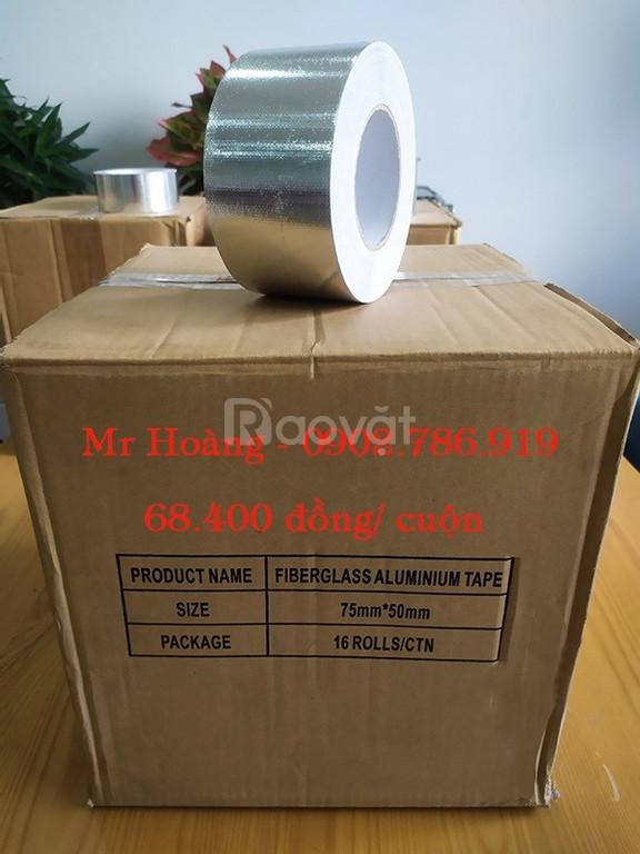 Thanh lý 504 cuộn băng keo nhôm: 50mm x 40 mét