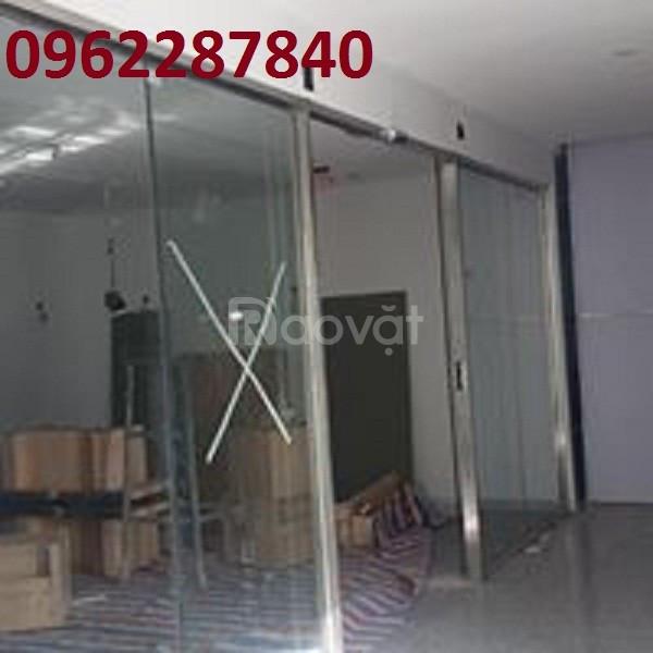 Thi công cửa nhom kính tự động giá rẻ Đà Nẵng, Quảng Nam