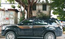 Bán xe Toyota Fortuner G màu đen sản xuất 2014 giá 768 triệu