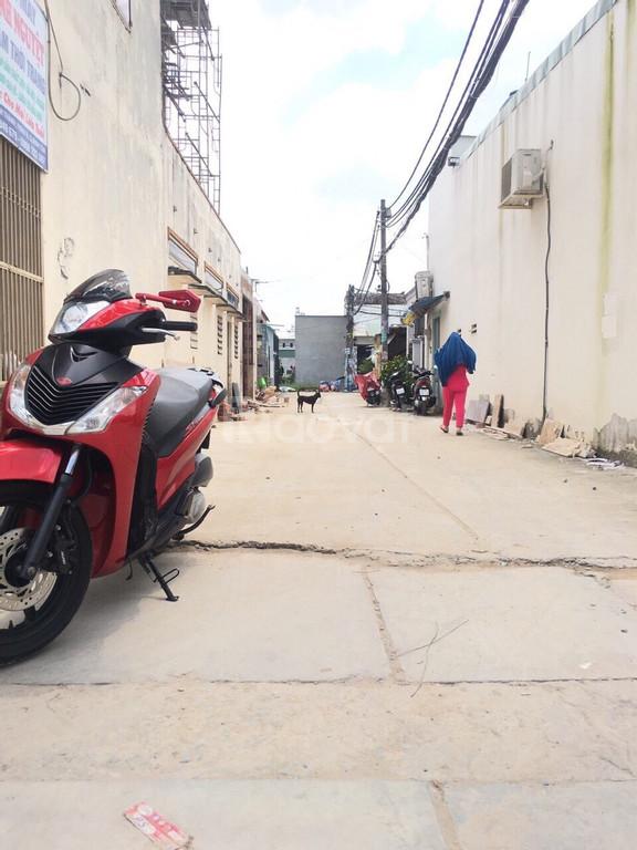 Nhà hẻm 345, Đường Bình Thành, P. Bình Hưng Hoà B, Q. Bình Tân.