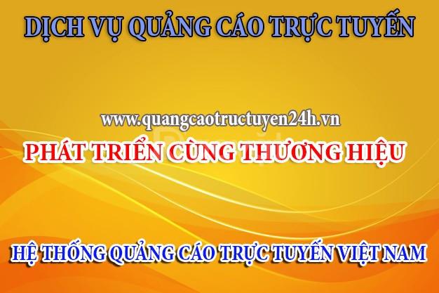 Chương trình hỗ trợ quảng cáo thông qua trang quangcaotructuyen24h