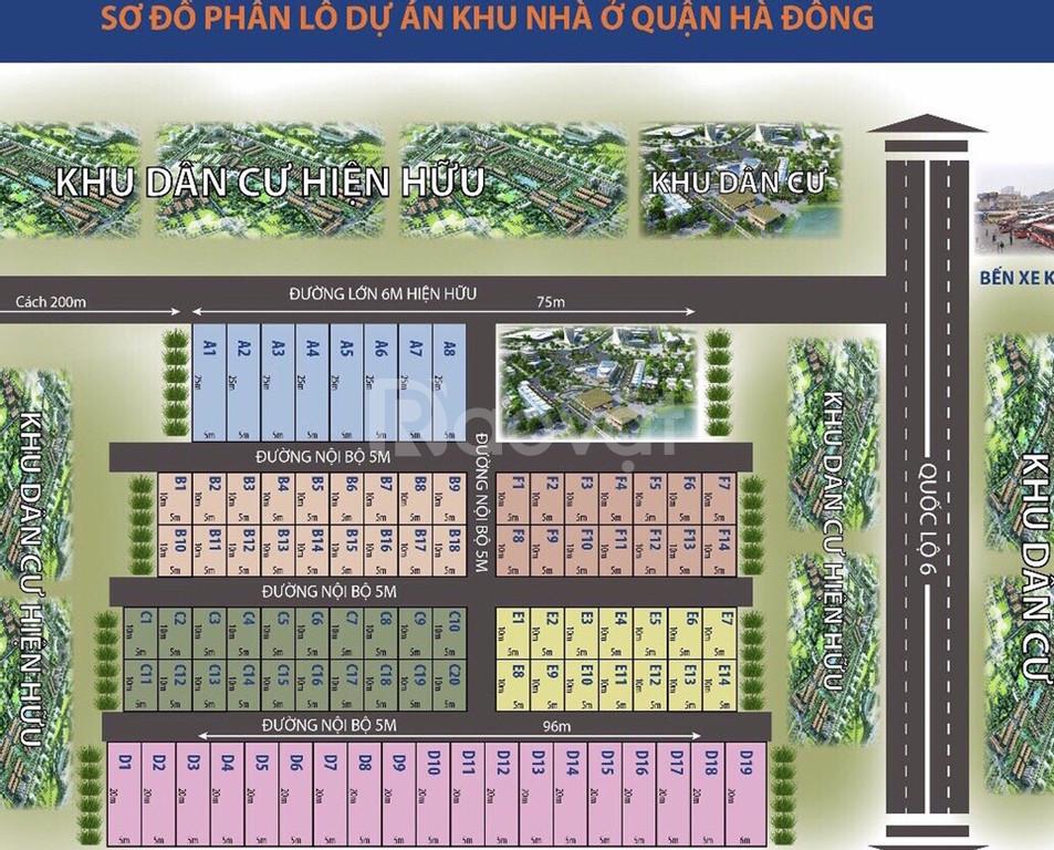Dự án đất nền Hà Đông giá tốt cho các chủ đầu tư