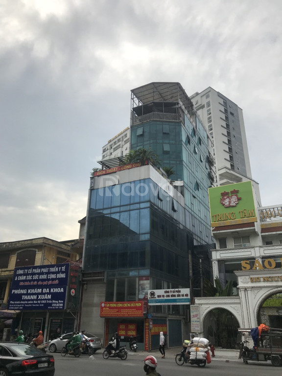 Cho thuê mặt bằng kinh doanh sàn văn phòng mặt phố Thanh Xuân