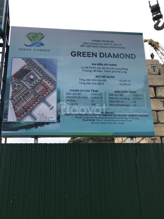 Bán Shophoues mặt biển Hạ Long - Dự án Green Diamond