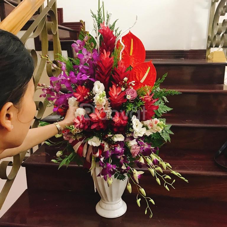 Dạy cắm hoa  tươi nghệ thuật  dành cho  mở shop tại Đà Nẵng