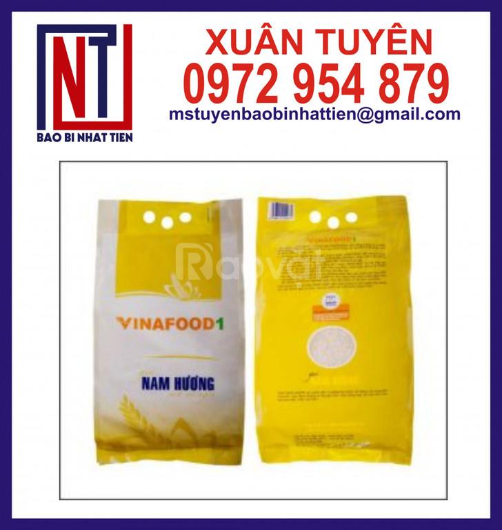 Túi PA/PE đựng gạo, túi màng ghép đựng gạo