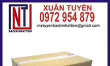 Chuyên sản xuất thùng carton 3 lớp đóng gói hàng hóa