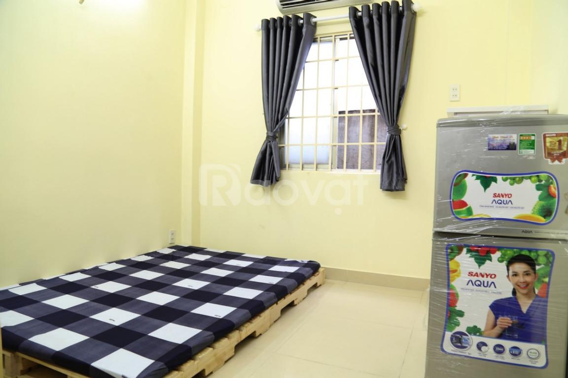 Cho thuê phòng full nội thất, giá tốt ở 505 Trần Hưng Đạo, Cầu Kho, Q1