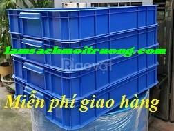 Khay nhựa đựng linh kiện, sóng nhựa bít cao 10cm, thùng nhựa đựng chi