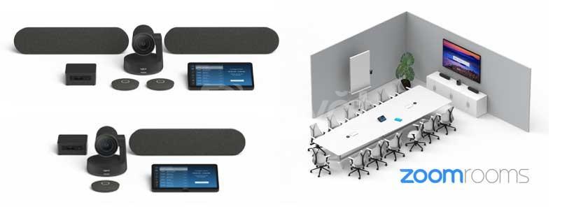 Logitech và Zoom công bố giải pháp phòng họp Zoom Rooms