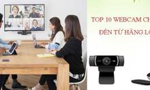 TOP 10 webcam hội nghị chất lượng đến từ hãng Logitech