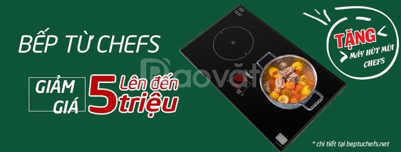 Bếp Chefs DIH 2000A tiếp tục cán mốc doanh thu