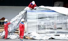 Dịch vụ đóng gói hút chân không máy móc bảo quản hàng hóa