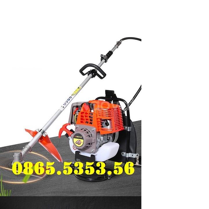 Máy xạc cỏ, máy xới đất đeo vai, động cơ 4 thì