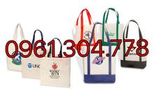 Xưởng cung cấp túi vải canvas in quảng cáo giá rẻ