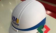 Xưởng sản xuất nón bảo hiểm,In ấn quảng cáo lên nón bảo hiểm