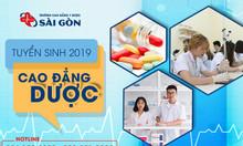 Tuyển sinh Cao đẳng Dược TPHCM Trường Cao đẳng Y Dược Sài Gòn